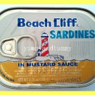 4 CANS SARDINES IN MUSTARD SAUCE - USA SELLER