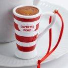 Supreme Bean Mug Holiday Hanging Ornament Hallmark Christmas Decoration