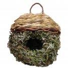Birdhouse Bird Roosting Nests Handwoven Grass Birds Houses Gardening Decor