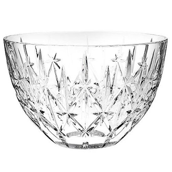 """Marquis by Waterford Crystal Sparkle Design Serving Bowl 9"""" D x 6"""" H"""