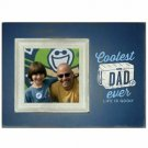 Coolest Dad Ever Father's Day Decorative Photo Frame Tan Life is Good