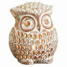 Enlightened Owl Luminary Candle Holder Indoor Outdoor Accent Lighting