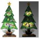 Tree w LED Lights Table Top Seasonal Decor Christmas Decoration