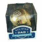 All-Star Dad Gold Baseball Father's Day