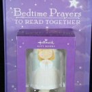 Hallmark Hardcover Book Bedtime Prayers to Read Together & Angel Night Light Sen