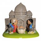 Small Cultural Nativity Scene Seasonal Decoration Nativities Around the World (India Nativity)