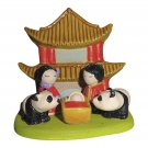 Small Cultural Nativity Scene Seasonal Decoration Nativities Around the World (Asian Nativity)