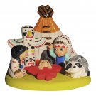 Small Cultural Nativity Scene Decoration Nativities Around the World (American Indian Nativity)