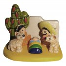 Small Cultural Nativity Scene Seasonal Decoration Nativities Around the World (Mexico Nativity)
