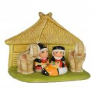 Small Cultural Nativity Scene Seasonal Decoration Nativities Around the World (Thai Asian Nativity)