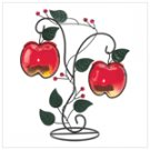 Country apples tealight holder