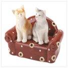 Cuddly cats shaker set  12029