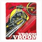 Motorcycle fleece throw 12301