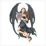Gothic Angel plaque   12544