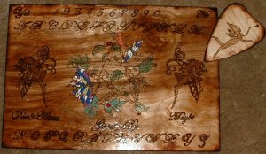 Fairy Pentacle Spirit Board