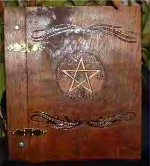 Fancy Pentacle Book of Shadows
