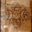 Fancy Triple Moon Book of Shadows