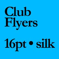 """QTY 500 - 5"""" X 7"""" 16PT SILK LAMINATED Flyers and Postcards"""
