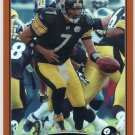 2009 Topps Chrome - BEN ROETHLISBERGER Copper Refractor 163/649