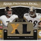 2007 UD Premiere BEN ROETHLISBERGER Rare Patches /25