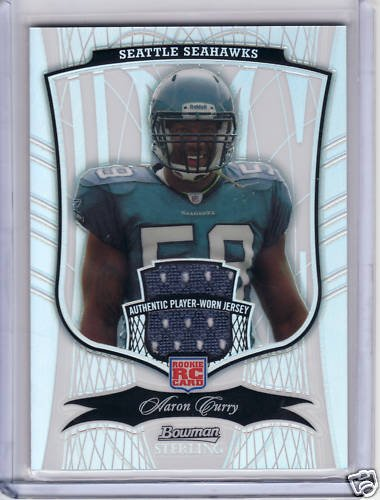 2009 Bowman Sterling Jersey Refractor AARON CURRY /199