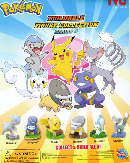 Pokemon Buildable Figure Collection Series 4