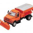 Dept 1-87 GMC Topkick 2-Axle Snow Removal Truck 1/87 Scale