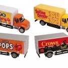 Dept 1-87 Set of 4 INTL 4300 2-Axle Candy Truck 1/87 Scale