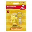 Woodstock Peanuts Bendable Key Chain