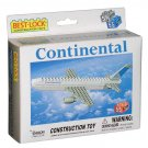Continental Airlines 55 Piece Construction Toy with Minifigure