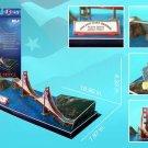 ubic Fun 3D Golden Gate Bridge 3D Puzzle - 18 inches Long