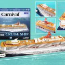 Carnival Cruiseship 3D Puzzle 86 Pieces