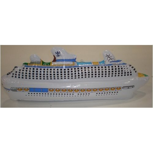 Royal Carribean Cruise Inflatable Cruise Ship 22inches long