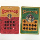 Two Vintage Starsnap cards, Sewing Collectibles