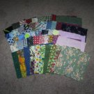 Quilt Squares, 50 Assorted 4 inch squares, Great Crafter Stash, New