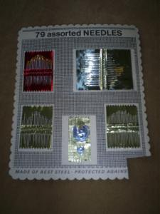 Vintage, Needle Book from Woolworth, Woolco
