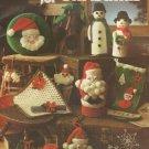 Two Leisure Arts Crochet Leaflets, Christmas & Pillows