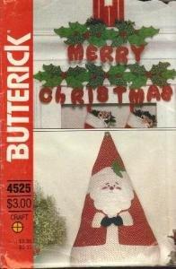 Christmas Decor Butterick Pattern # 4525