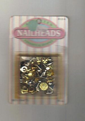 Nailheads, Assorted Finishes & Shapes for Embellishments, New