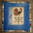 Country Kichen Jean  Hot Pad Pot Holder, New, Handmade