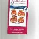 Spellbinders Nestabilities, S4-281 New 4 Die templates, Jack O' Lanterns