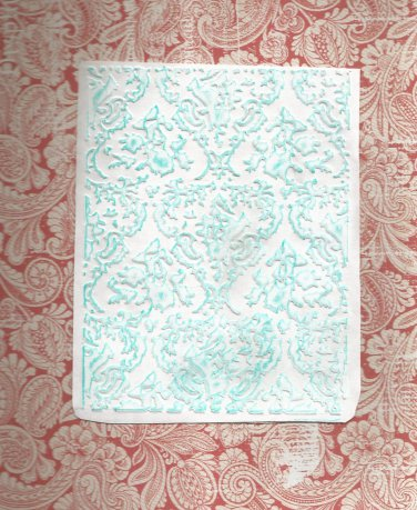 Sizzix Embossing Folder, Design 1, Gently Used