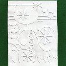 Cuttlebug Embossing Folder, Holiday Christmas Ornaments, Gently Used