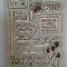 "Large set of Acrylic Stamps, ""Variety Pack"""