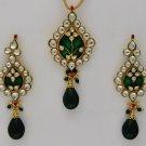 Beutiful Kundan Pendant set from India_SKU PS0183