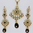 Traditional Kundan Pendant set_SKU PS0179