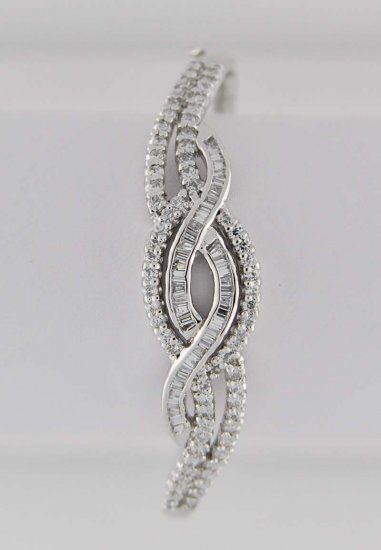 Bangles studded with differently shaped American Diamonds_SKU BN0064