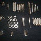MAICO  POLISHED STAINLESS ENGINE KIT 250 400 440 490