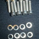 YAMAHA RD 250 350 400 DS7 R5 STAINLESS CARB BOLT SET