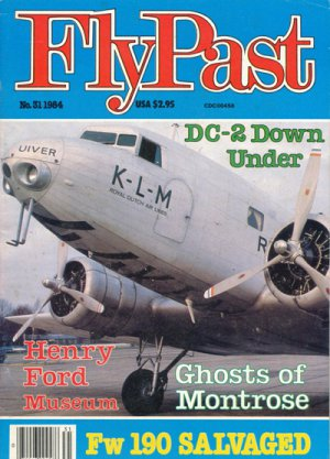 FlyPast Magazine No.31 DC-2, Henry Ford Museum
